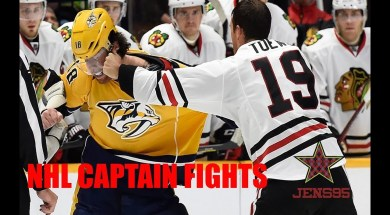 NHL Captains Drop The Gloves