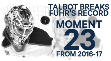 No. 23/100 Talbot Breaks Fuhr's Record