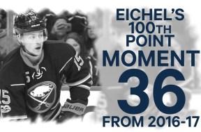 No 36/100: Jack Eichel Joins Century Club