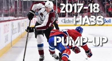 2017-18 Habs Pump Up