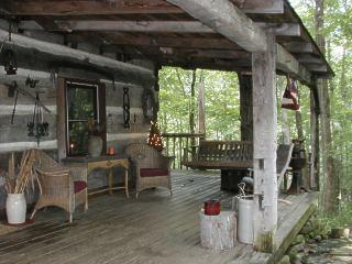 Log Cabin View Hocking Hills Ohio