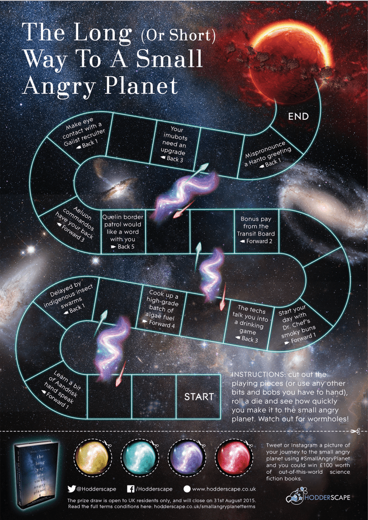 Angry Planet board game