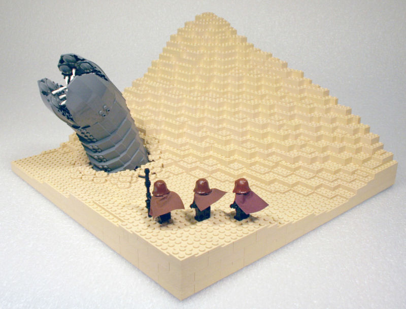 7 book inspired LEGO creations that belong in a museum