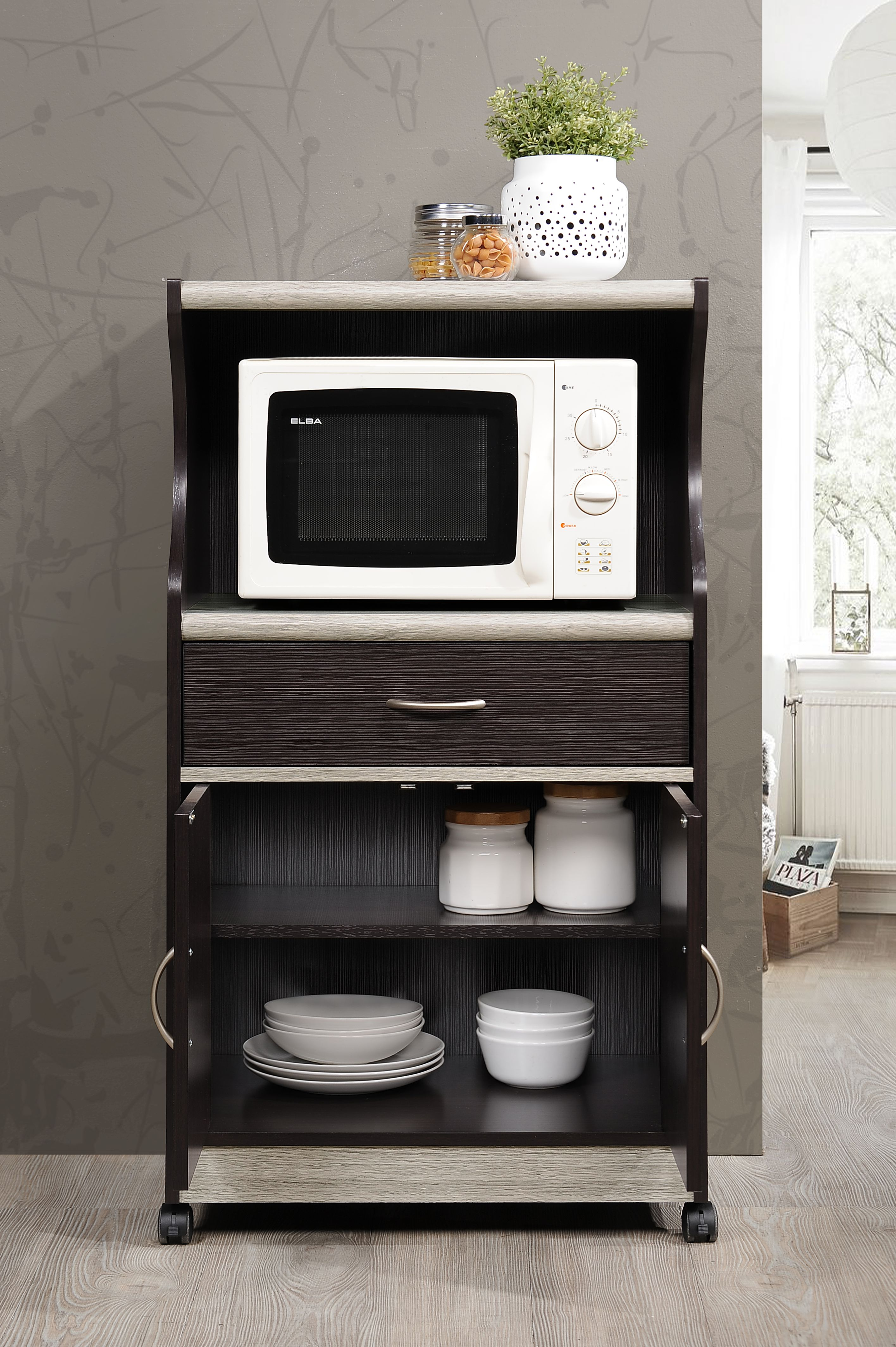 Microwave Stands Shelves And Storage