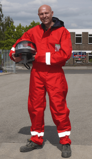 HODGE CLEMCO LAUNCHES FIRST FIRERESISTANT BLAST SUIT