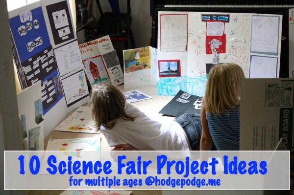 Science Fair Project Ideas - Hodgepodge