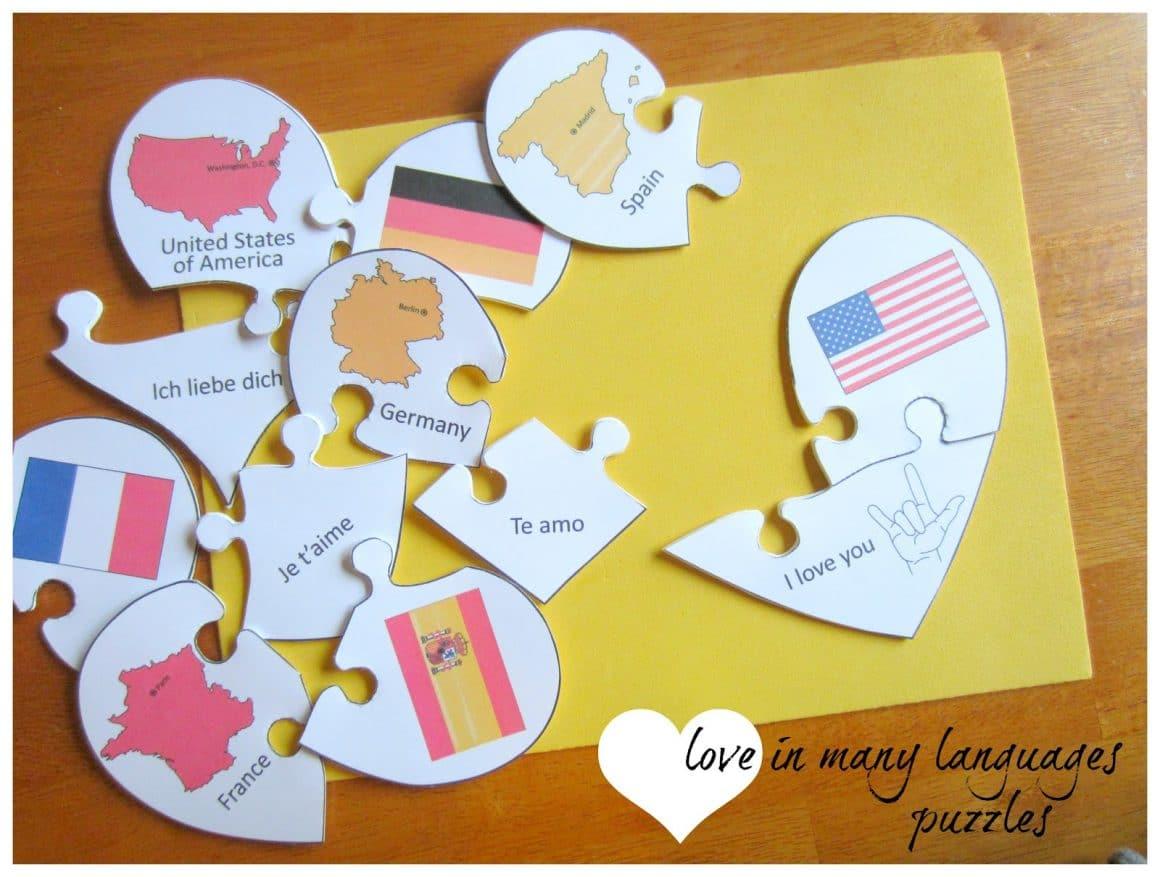 Love School Educational Valentine Craft Ideas