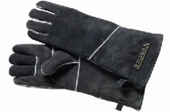 Gauntlets used to stop you from burning hands and arms when refuelling your log burner