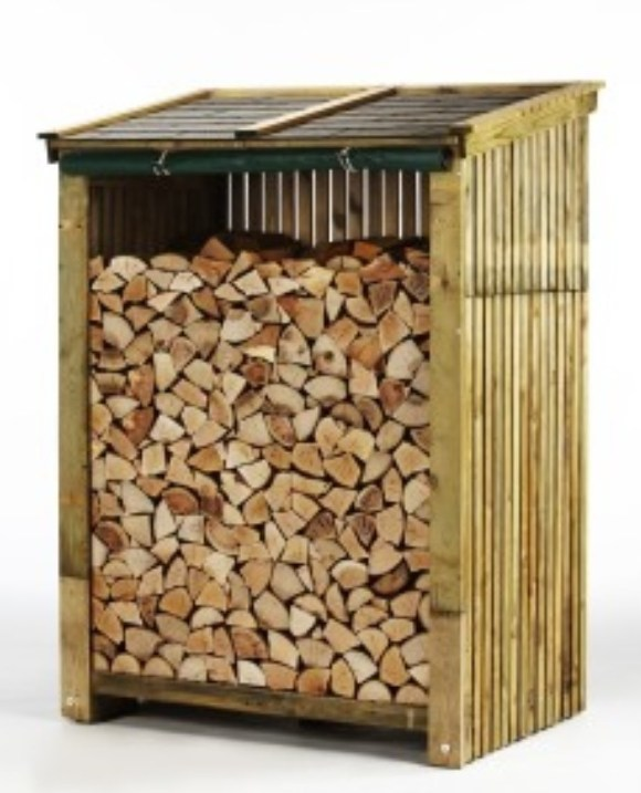 Wood stores can be purchased and assembled from Hodgsons Chimney Sweeps