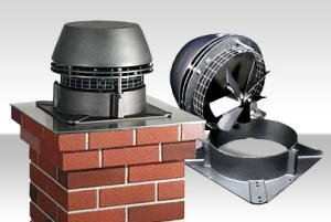 Hodgsons Chimney Sweeps Service and maintain chimney fans in many properties through out Devon