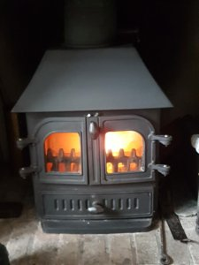 Multifuel stove chimney sweep and full service undertaken in Exeter by you Exeter Chimney Sweep