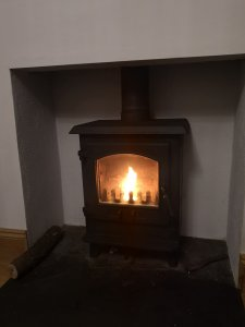 Chimney and service of a dean forge multifuel stove in teignmouth