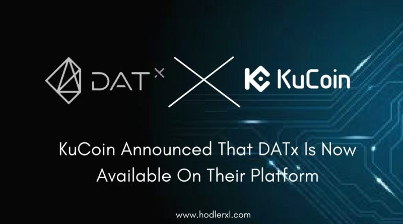 KuCoin Announced That DATx Is Now Available On Their Platform