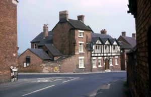 The Bear Inn, Hodnet July 1963
