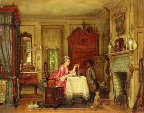 Edward-Lamson-Henry-xx-Drafting-the-Letter-xx-Private-Collection