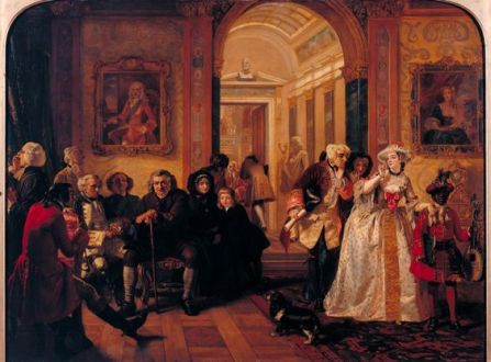 Edward Matthew Ward Doctor Johnson in the Ante-Room of the Lord Chesterfield Waiting for an Audience 1748