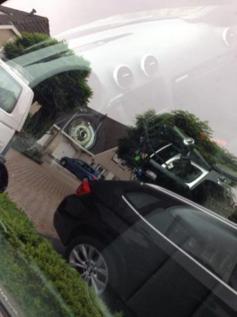 De Audi zonder stuur