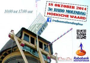 Poster Rabo Molendag Hoeksche Waard 2014