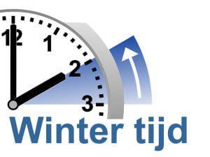 Afbeeldingsresultaat voor aankomend weekend wintertijd