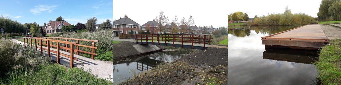 Nieuwe bruggen en steiger voor Nieuw-Beijerland, Mijnsheerenland en Puttershoek - Hoeksche Waard - Hoeksche Waard Nieuws