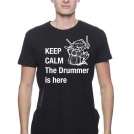 Keep calm, de drummer is here