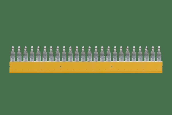 • 10 Stk. Weidmüller Sicherungs-Querverbinder 24-polig