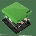 • 1x USB Netzteil mit 3 Länderadaptern
