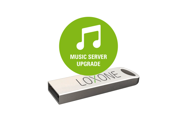 • 1x Loxone USB Stick mit Software zum Upgraden