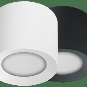 • 1x LED Aufbauspot RGBW