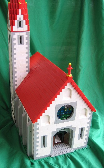 Lego Alpine Village Church