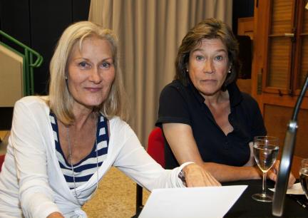 Hedi Kriegeskotte und Tina Engel; Bild: SWR/Frank Stiller