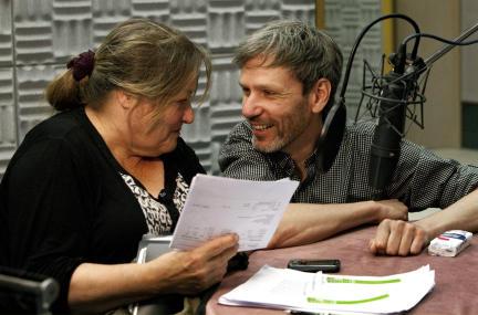 Marianne Sägebrecht und Kai Grehn; Bild: SWR / Monika Maier
