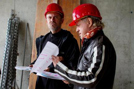 Matthias Leja und Owe Ochsenknecht; Bild: WDR/Fahri Sarimese