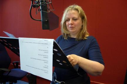 Gabriela Maria Schmeide; Bild: Radio Bremen/Dennis Williamson