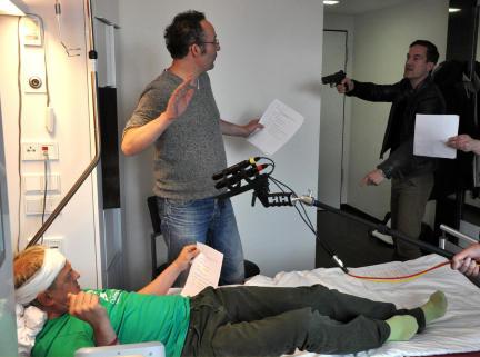 Uwe Ochsenknecht, Sönke Möhring und Tom Jacobs; Bild: WDR/Sascha von Donat