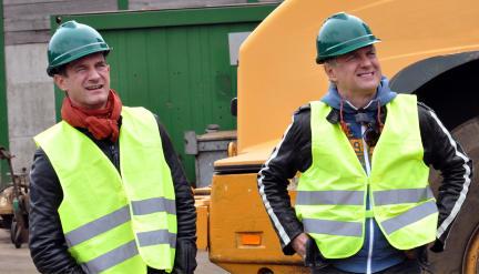 Sönke Möhring und Uwe Ochsenknecht; Bild: WDR/Sascha von Donat