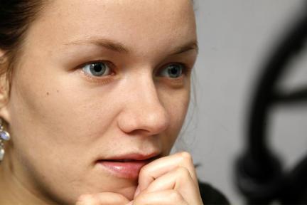 Mareike Hein als Kommissaranwärterin Eva Salz; Bild: WDR/Sibylle Anneck