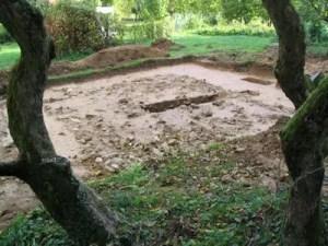 Ausgrabung Gimbacher Kapelle