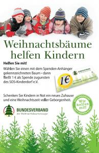 Weihnbaumaktion SOS-Kinderdorf