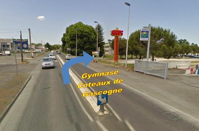 Gymnase Coteaux de Gascogne