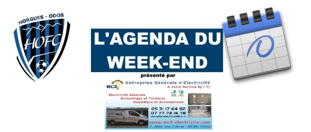 [CLUB] L'agenda du week-end…(18/19 octobre 2019)