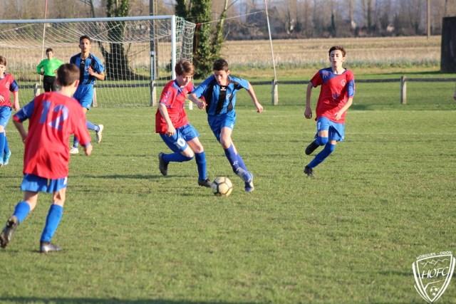 [U15] HOFC – FC PVG en Images