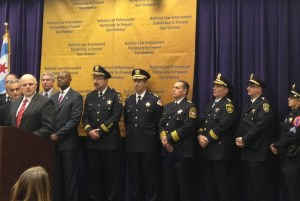 Police Chiefs and Chicago Mayor commemorate 20th Anniversary of Brady Bill signing