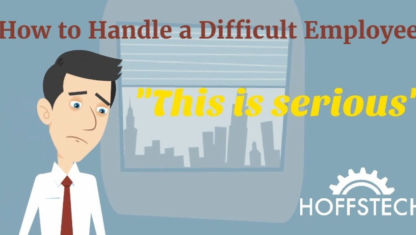 how to handle a difficult employee