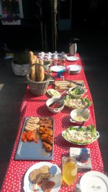 Barbecue familiefeest