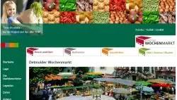Wochenmarkt Detmold  Wochenmarkt  Bauernmarkt Detmold
