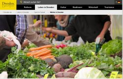 Wochenmarkt Dresden WTC  Wochenmarkt  Bauernmarkt Dresden
