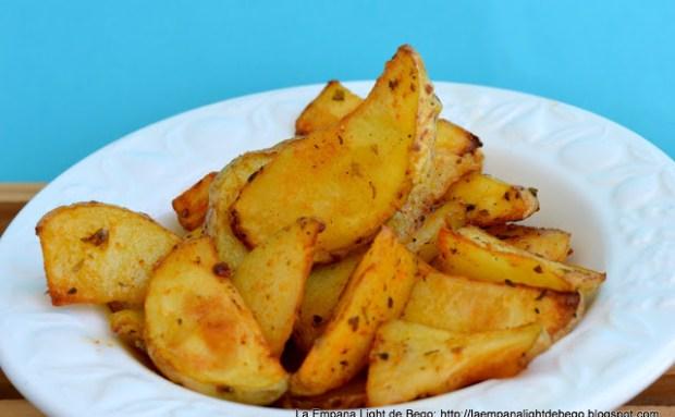 patatas gajo aromatizadas al horno