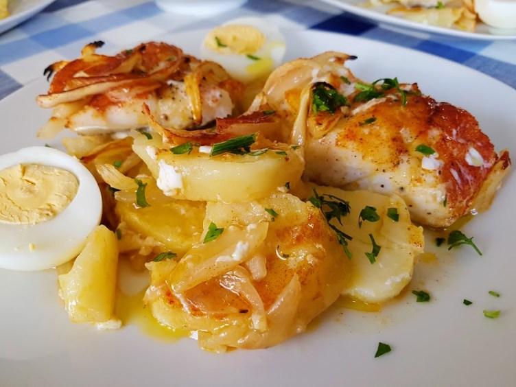 Bacalao al horno a la portuguesa hogar cocina facil for Hogar cocina facil