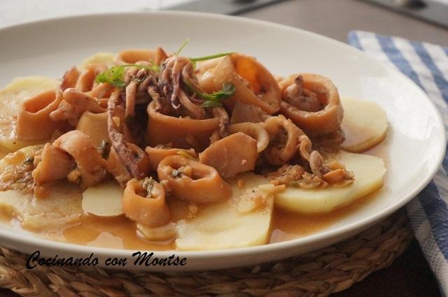 Calamares con salsa de almendras hogar cocina facil for Hogar cocina facil